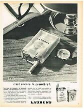 PUBLICITE ADVERTISING   1962   LAURENS  cigarettes