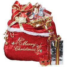 Santa Bag Toy Sack Adult Christmas Costume Accessory Fancy Dress