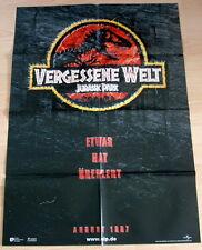 Jurassic Park VERGESSENE WELT  Plakat A1 EA Teaser