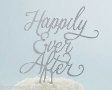 Happily Ever After Cake Topper Wedding Cake Top Fairytale
