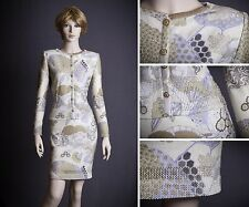 STUNNING ST.JOHN COLLECTION KNIT TEXTURED DRESS SUIT SIZE 4 GORGEOUS