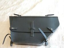 Genuine Swiss Military Army Leather Bicycle Frame Bag in Excellent Condition