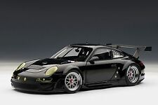 Porsche 911 (997) GT3 RSR 2010, Plain Body Version, Black 1:18 AUTOart 81074 New