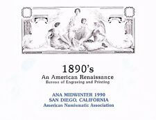 Bep Mint Souvenir Card B135 Ana Midwinter $2 Silver Am. Renaissance 1990