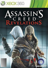 Assassin's Creed Revelations + Book X Box Game, Fast & Cheap Post .....3398