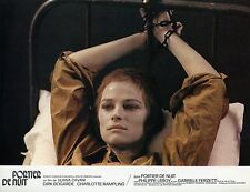 SEXY CHARLOTTE RAMPLING PORTIER DE NUIT 1974 VINTAGE PHOTO LOBBY CARD 3