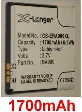 Batterie 1700mAh Pour SONY ERICSSON Xperia T LT29i type BA900