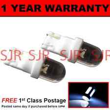 W5W T10 501 XENON WHITE DOME LED SIDE REPEATER INDICATOR BULBS X2 HID SR100102
