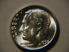 1950 Roosevelt Dime Bu uncirculated gem!