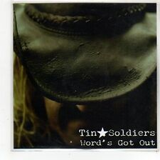 (FS358) Tin Soldiers, Word's Got Out - 2010 DJ CD