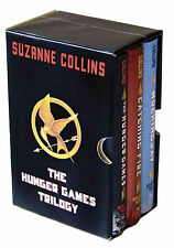 The Hunger Games Trilogy Boxed Set by Suzanne Collins (Hardcover)