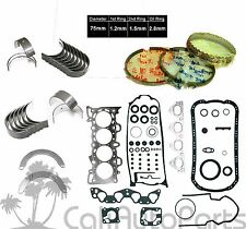 92-95 HONDA CIVIC EX Del Sol Si VTec 1.6L D16Z6 ENGINE *RE-RING KIT* (GRAPHITE)