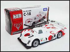 Tomica Disney C-18 CARS 2 Shu Todoroki Tomy TAKARA DIECAST CAR