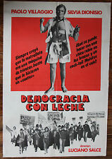 Used - Cartel de Cine  DEMOCRACIA CON LECHE  Vintage Movie Film Poster - Usado