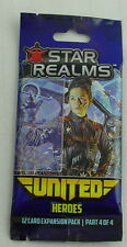 Star Realms United Card Game: Heroes 12-Card Expansion Pack WWG018-524