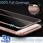 3D Full Coverage Curved Alloy Tempered Glass Screen Protector for iPhone 6s Plus