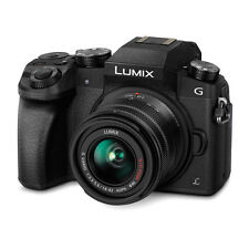 PANASONIC LUMIX G7 DIGITAL CAMERA WITH 14-42MM LENS BLACK DMCG7KK OPEN BOX DEMO