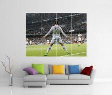 CRISTIANO RONALDO REAL MADRID CELEBRATION GIANT WALL ART PHOTO POSTER