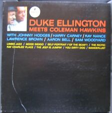 DUKE ELLINGTON (LP 33 Tours)  MEETS COLEMAN HAWKINS