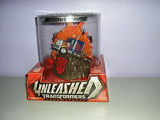 TRANSFORMERS UNLEASHED OPTIMUS PRIME TURNAROUND SCULPTURE NEW IN BOX