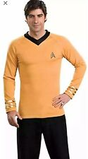 Original Star Trek Gold Captain Kirk Adult Costume XL 44-46