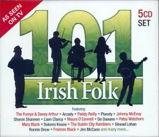 101 IRISH FOLK 5 CD SET - FEATURING THE FUREYS, LIAM CLANCY, PLANXTY & MANY MORE