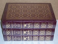 Easton Press THE GODFATHER TRILOGY by Mario Puzo 3 vols Last Don Omerta -MINT