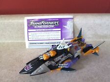 Transformers Energon Sharkticon Near Complete figure 2004
