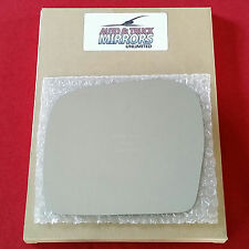 NEW Mirror Glass + ADHESIVE 00-02 TOYOTA 4RUNNER 01-04 TACOMA Driver Left Side