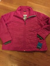 Women's Plus Columbia Omni-Heat Puffy jacket coat winter 3XL Parka XXXL 3X Pink