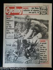 CYCLING - JAN RAAS - JAN 13 1979