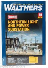HO Scale Walthers Cornerstone 933-3025 Northern Light & Power Substation Kit