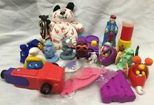 MIXED TOY LOT Vintage 1980/1990s Fast Food Prize WENDY McDonald DUCK TALE Disney