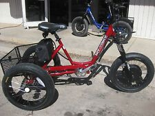 ELECTRIC MOUNTAIN TRIKE 3 Speed FAT TIRE BIKE TRICYCLE GOLF THERAPY Road BMX