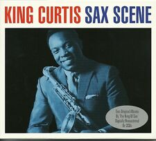 KING CURTIS SAX SCENE - 2 CD BOX SET - KING OF SAX
