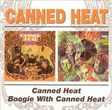 Canned Heat/Boogie with Canned Heat by Canned Heat (CD, Jun-2003, Bgo)