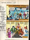 1980's Zeck Captain America 288 Marvel Comics original color guide art page 4