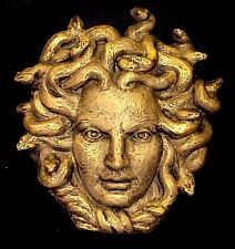 MYTHICAL FACE PLAQUE MEDUSA WALL DECOR GORGON 10006