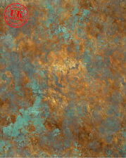 BLUE RUST PATTERN BACKDROP WALLPAPER BACKGROUND VINYL PHOTO PROP 5X7FT 150x220CM