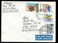 Greece 1990 Airmail Cover To Germany #C6946