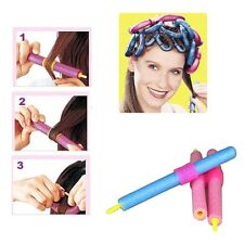 24Pcs Soft Foam Curler Bendy Twist Curly Hair Makers DIY Styling Hair Rollers