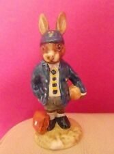 RARE ROYAL DOULTON BUNNYKINS FIGURE - SCHOOLBOY BUNNYKINS DB 66  PERFECT !!