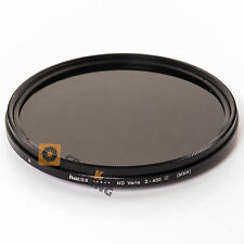 VARIABLE NEUTRAL DENSITY FILTER 77mm ND2 to ND400 Hama Vario Adjustable ND Lens