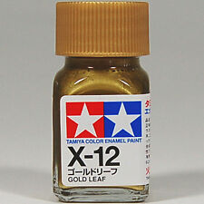 TAMIYA COLOR ENAMEL X-12 Gold Leaf MODEL KIT PAINT 10ml NEW