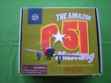 THE AMAZING P.51 MUSTANG 1:72 SCALE DIECAST REPLICA AIRPLANE