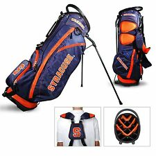 Authentic NCAA Syracuse University Golf Stand Bag + Bonus