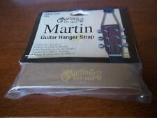 Martin Guitar Hanger Strap 18AMLGHN in Tan **Genuine Leather!