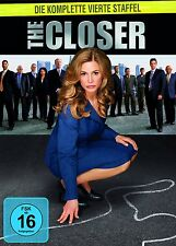 THE CLOSER : COMPLETE SEASON 4 (Kyra Sedgewick)  -  DVD - PAL Region 2 - New