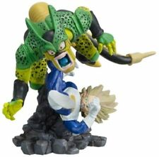 Bandai Dragon ball Z Imagination Gashapon Figure Part 9 SS Vegeta vs Cell 2nd