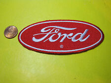 FORD CLOTH PATCH CREST SIZE HOT ROD RAT ROD F150 F250 F350 LOOK AND BUY!*
